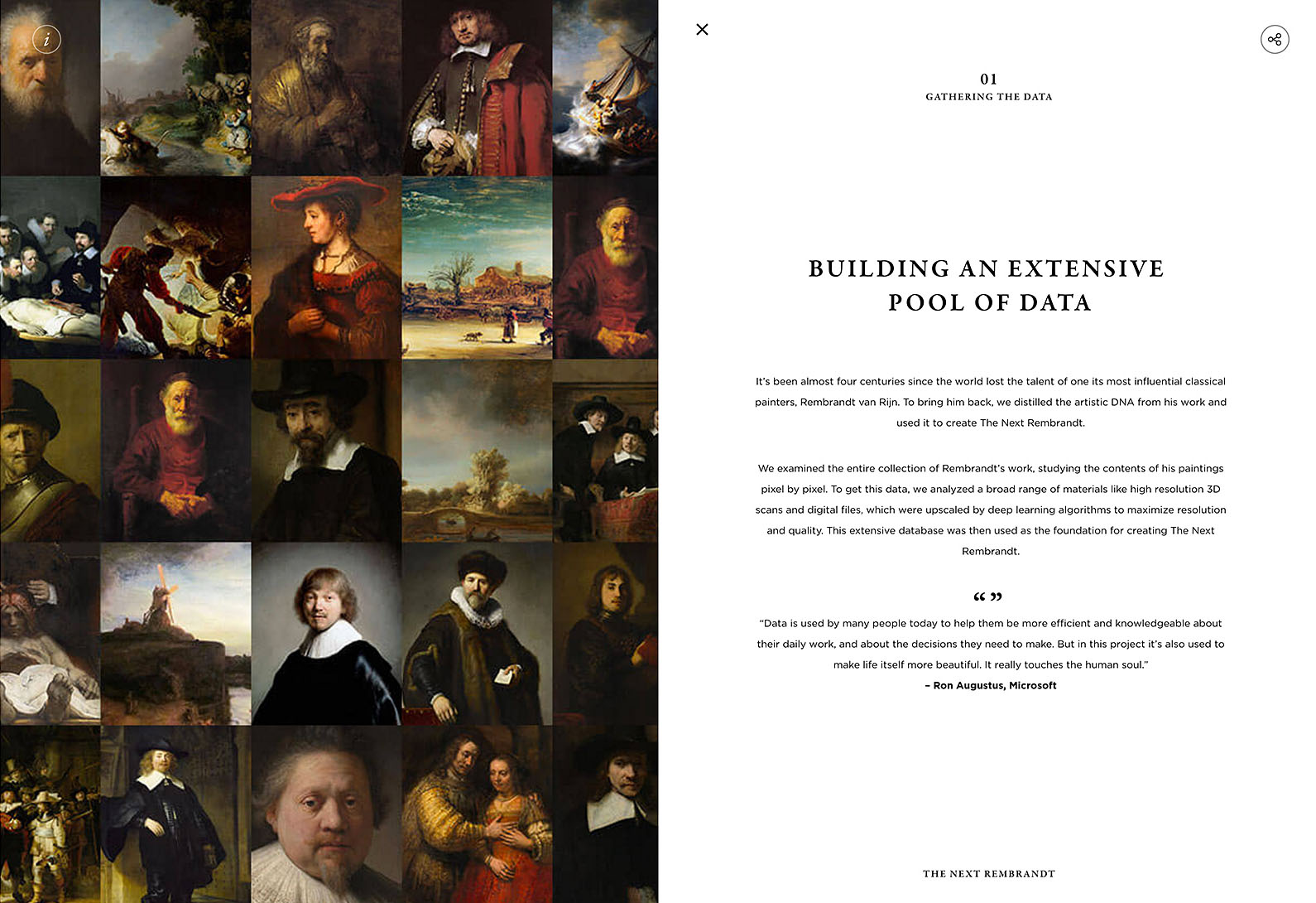 The Next Rembrandt project website-004