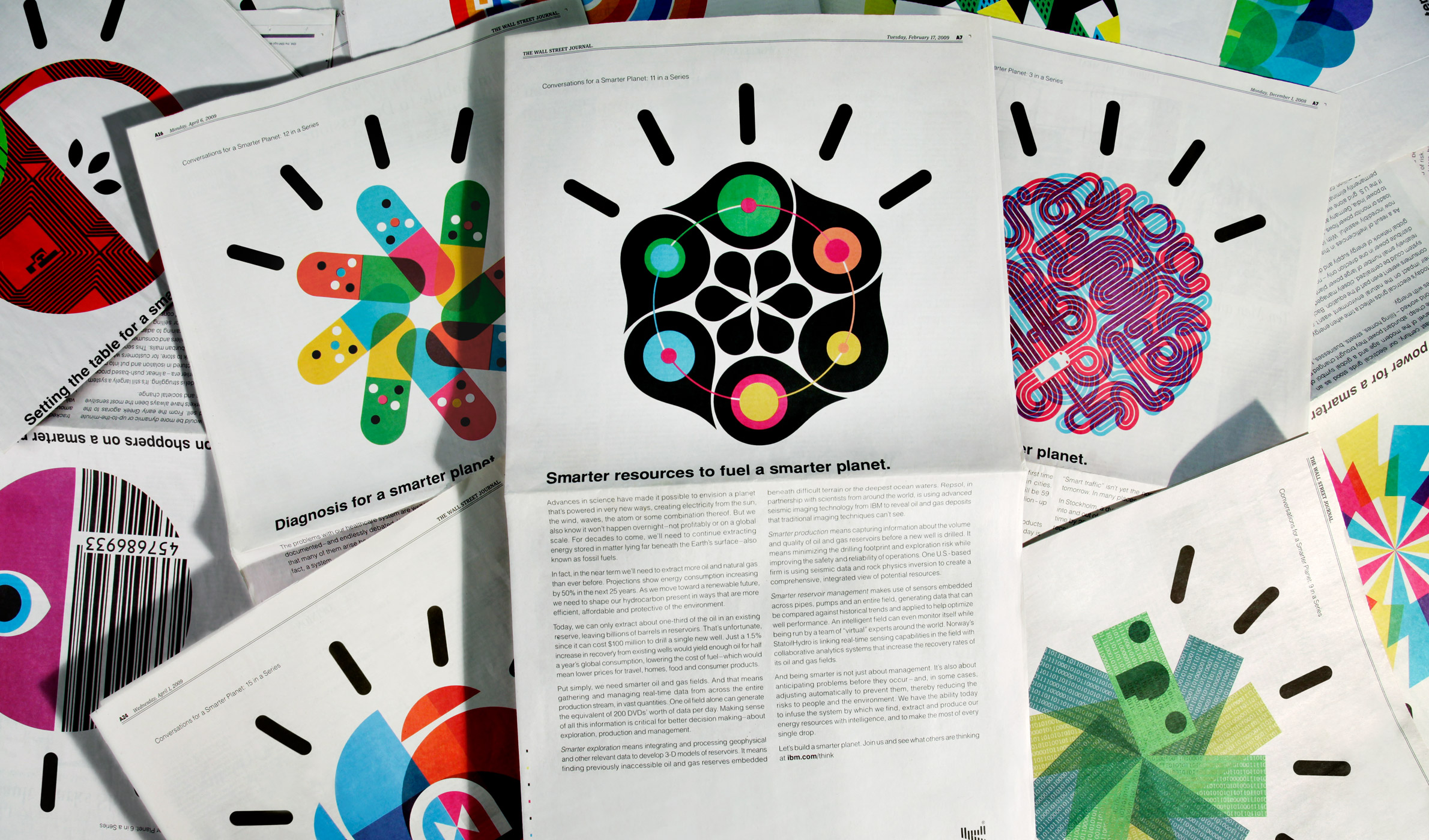 IBM Smarter Planet visual language designed by Office-001