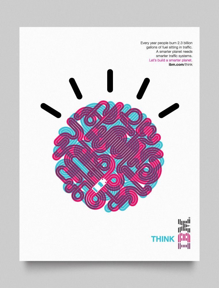 IBM Smarter Planet visual language designed by Office-012