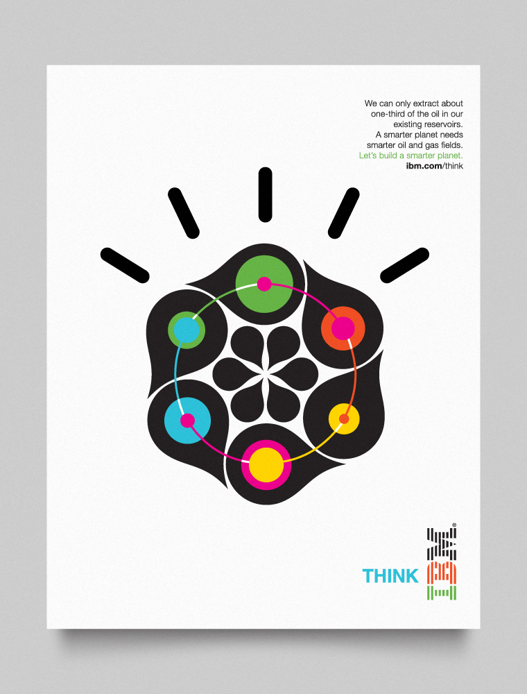 IBM Smarter Planet visual language designed by Office-014