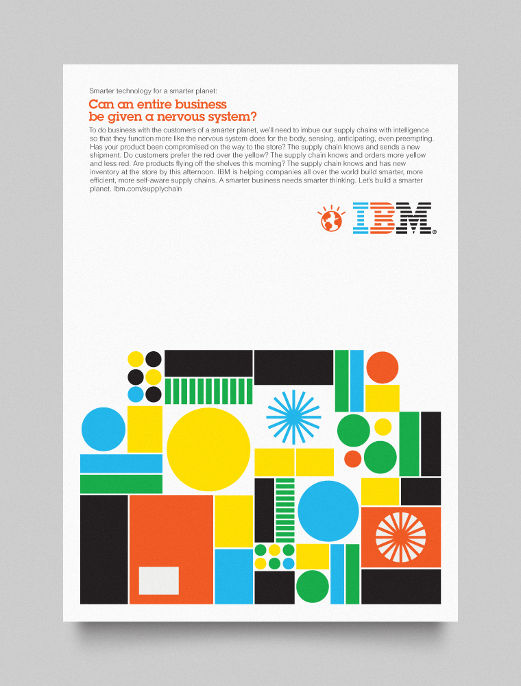 IBM Smarter Planet visual language designed by Office-018