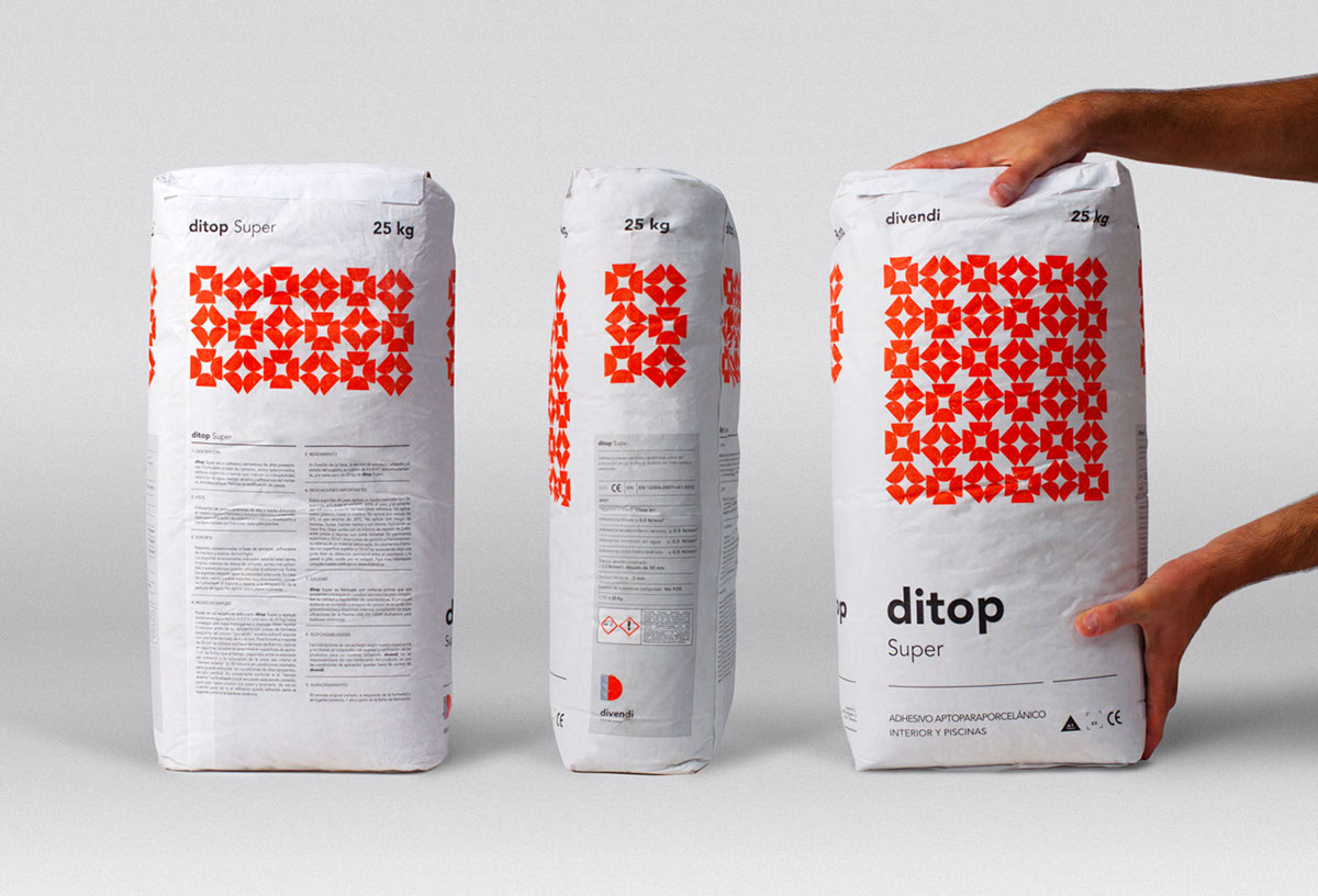 Design of Ditop cement sacks packaging design - dsgn.news