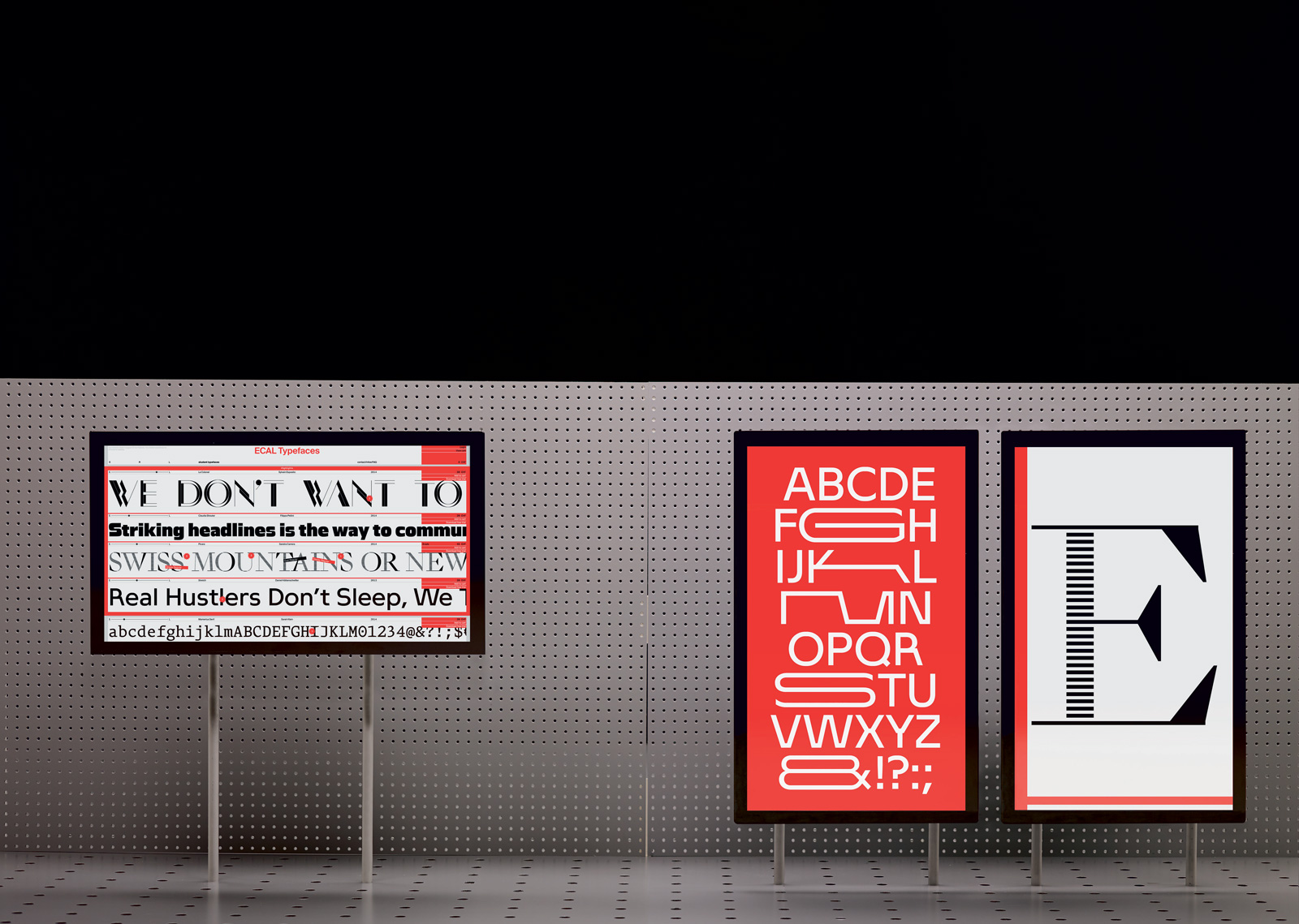 ecal graphic design book exhibition